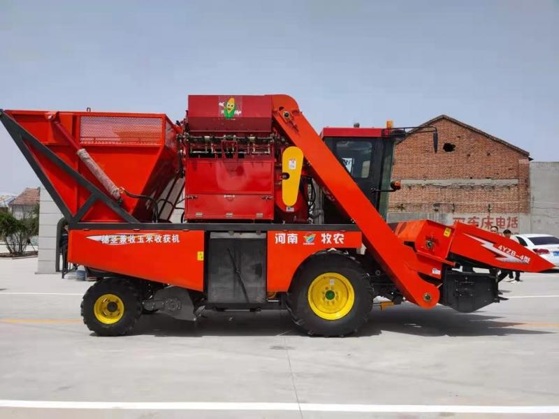 玉米双收青储机的柴油污垢怎么清除?
