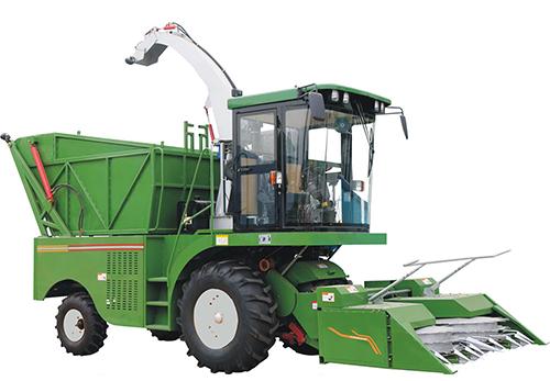 玉米自走式青贮机