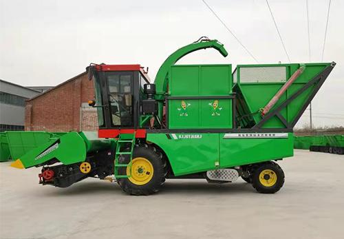 自走式玉米籽粒联合收获机
