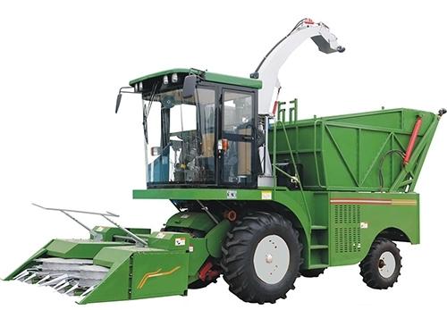 玉米收割青储一体机